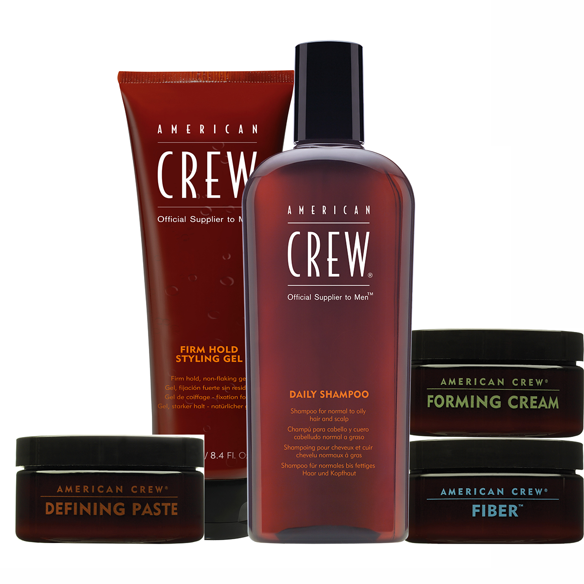 Products: American Crew Hair Products