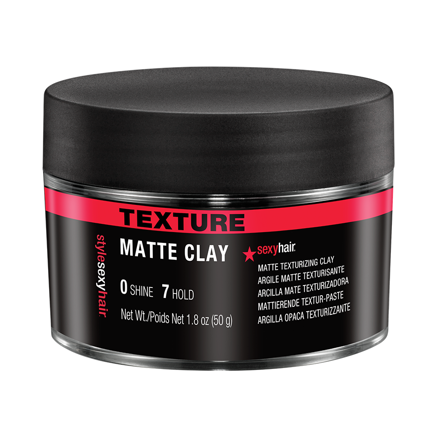 sexy hair style sexy hair matte clay texturing clay