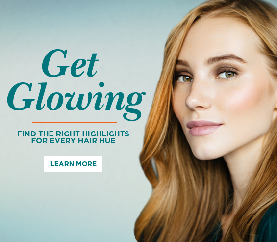 Get Glowing - Find the right highlights for every hair hue.