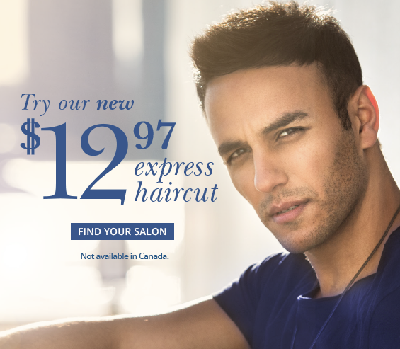 Try Our New Express 12.97 Haircut