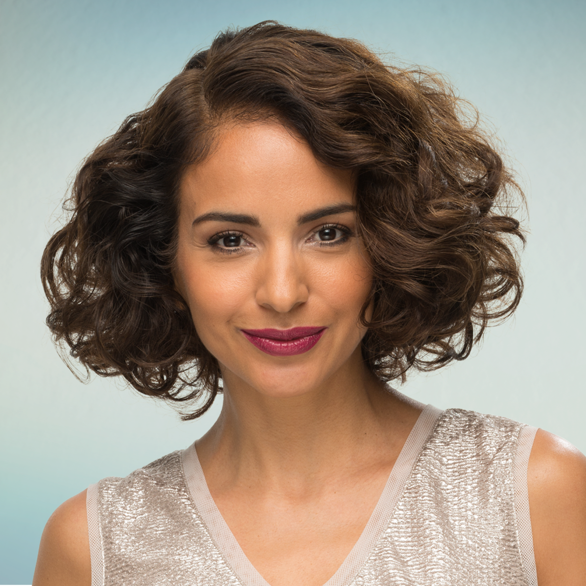 Curly Bob - Short Hairstyle for Women